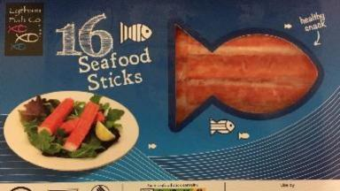 Recalled food: One of the products deemed unsafe.