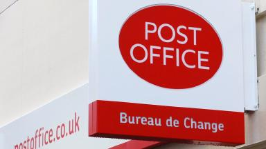 Post Office sign generic/stock shot