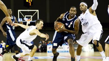 Defeat: The Scots lost in the BBL Cup final.