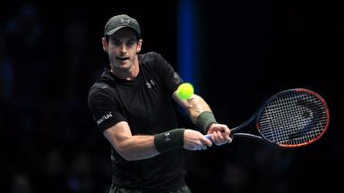 Second round: Andy Murray progressed in Australia.
