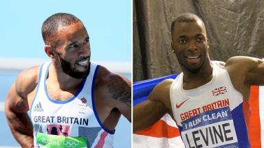 James Ellington and Nigel Levine pictured during the Rio Olympics last August.