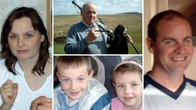 Flood deaths: The five died during a storm in 2005.