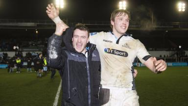 Stuart Hogg: Warriors ace wants double with club and country.