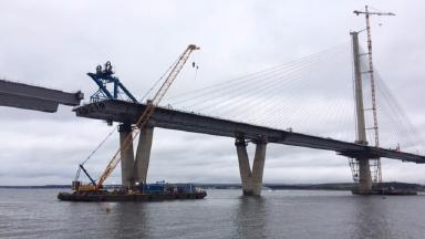 Queensferry Crossing: New opening date in May 'realistic'.
