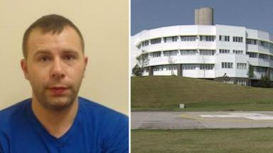 Andrew Ferguson: Targeted victim at Ninewells in Dundee.