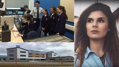 Eurovision entry: Pupils working on the song for Teodora Dinu.
