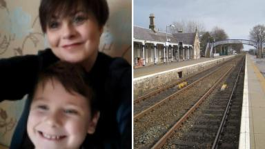 Found: Mother and son disappeared from home.