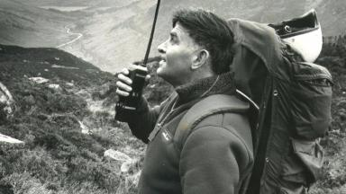 Harry Lawrie: Tributes paid to former rescue team leader.