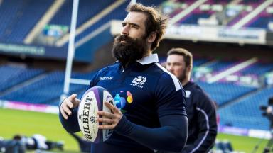 Fight: Josh Strauss is ready for battle this weekend