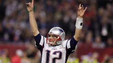 Super Bowl: New England Patriots' Tom Brady.