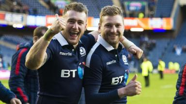 Stuart Hogg wants to keep up the fun in Scotland jersey