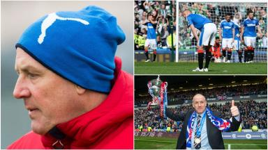 Exit: Mark Warburton's departure was announced on Friday.
