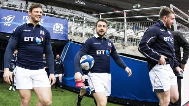 Scotland fans in Paris for Six Nations game against France