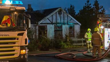 Lossiemouth fatal fire February 15 2017