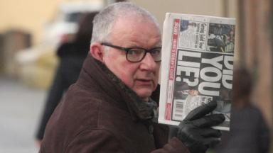 John Kane secretly recorded women at a retail park in Falkirk. Image from Central Scotland News Agency