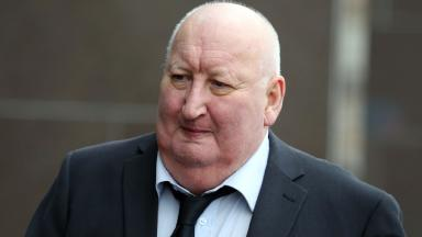 Harry Clarke, George Square bin lorry driver, arrives at court for wreckless driving charge