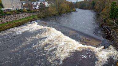 River Ericht in Perthshire generic/stock image