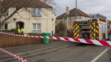 Man dies after fire at Wagon Road, Leven, Fife