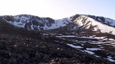 Coire an t-Sneachdain the Cairngorms where a climber died after fall on February 21 2017