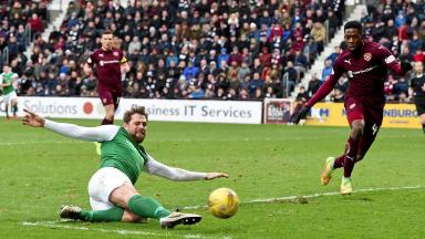 Hearts v Hibs at Tynecastle Scottish Cup February 12, 2017. Image from SNS