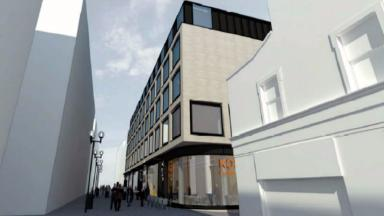 Plans: Artist's impression of the BHS site.