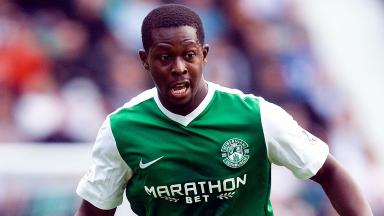 Marvin Bartley, player for Hibs