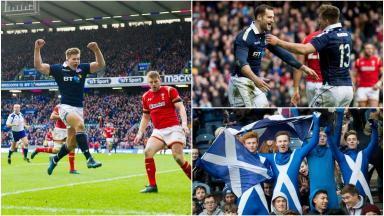 Scotland, Wales, Six Nations
