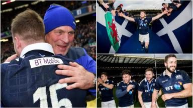 Scotland 'on a roll' ahead of England clash says Cotter
