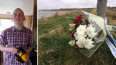 Ralph Smith, 18, who fell from Arbroath Cliffs in Angus in February 2017