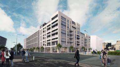 Plans for office space, hotel and flats across from Dundee V&A at waterfront