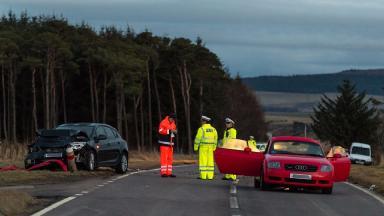 Woman dies in crash on the A96 Keith-Elgin near North Bogbain.