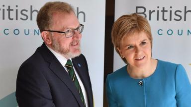 David Mundell AND Nicola Sturgeon 2016