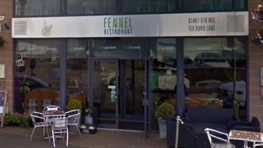 Fennel Restaurant in Inverurie, Aberdeenshire, from Google Maps