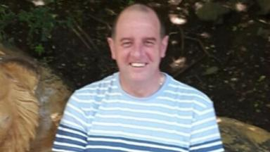 Missing Kenny Allan: a body was found as part of the police investigation.