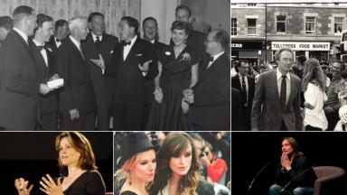 Gene Kelly, Clint Eastwood, Robert Carlyle, Keira Knightley and Sienna Miller, Sigourney Weaver, Edinburgh International Film Festival uploaded with permission Tuesday March 7 2017