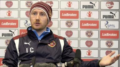 Ian Cathro admits Hearts job is harder than he expected