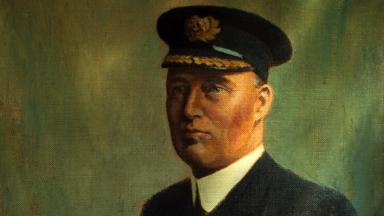 Painting of Archibald Bissett Smith, used with permission