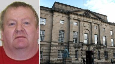 Stephen Craig, paedophile from Stirling, jailed for 12 years at Edinburgh High Court