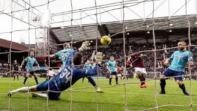 Scottish Premiership highlights: Hearts 4-0 Hamilton