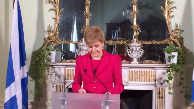 Sturgeon, Bute House speech. March 13 2017