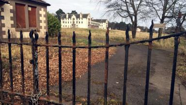 Former Sunnyside Hospital in Montrose, Angus, which is to be turned into housing development