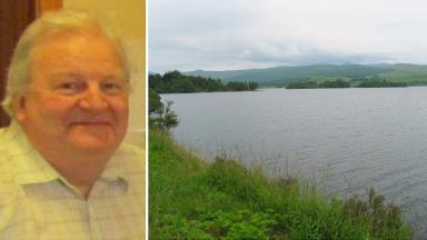Joachim Brolly, 59, reported missing on Loch Awe near Ford, Lochgilphead, Argyll