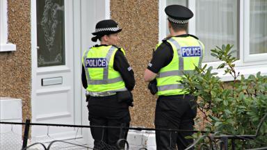 Police enquiries - Police Scotland stock shot - Spring 2017