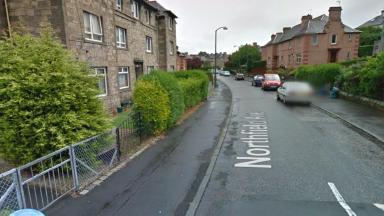 Northfield Avenue in Edinburgh/ Body of 73-year-old man found.