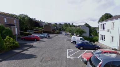 Torwoodlee Road, Galashiels, scene of attempted murder.