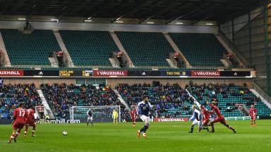 Scotland fans v Canada, March 2017