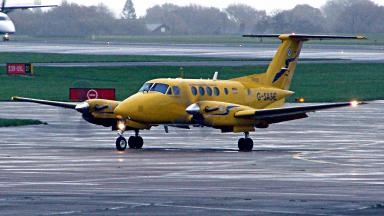 Blunder: NHS sorry over blunder after air ambulance sent to wrong location. (file pic)