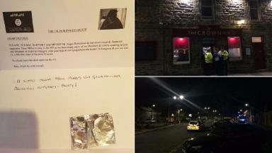 Crown Inn Moray IS letter