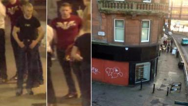 CCTV appeal: Police believe two men pictured may have information.