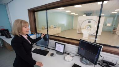 Ice: Glasgow University to open new £32m imaging centre.